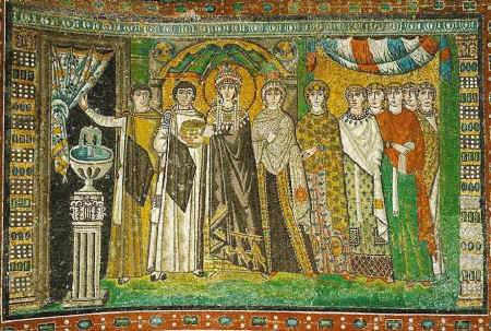 Mosaics of the Basilica of San Vitale