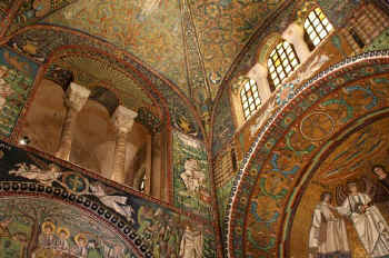 Architecture of the Basilica di San Vitale in Ravenna